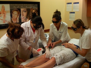 laser hair removal schools