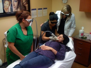 laser classes for estheticians