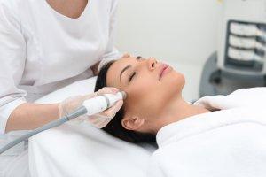 Laser training with skin rejuvenation