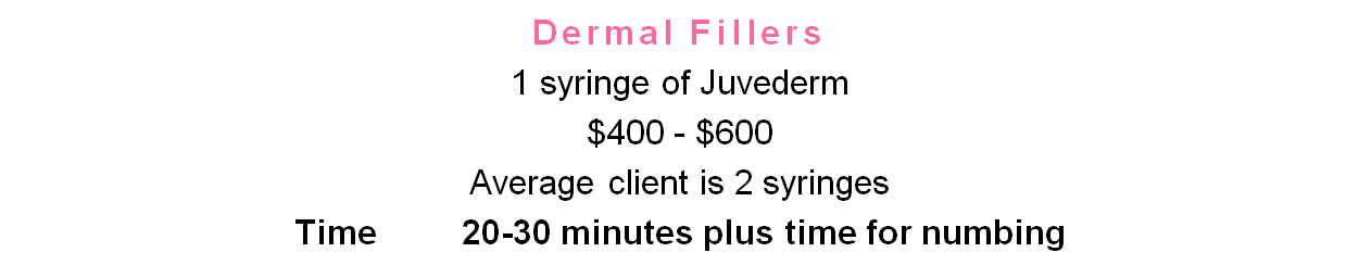 make great income as dermal filler physician