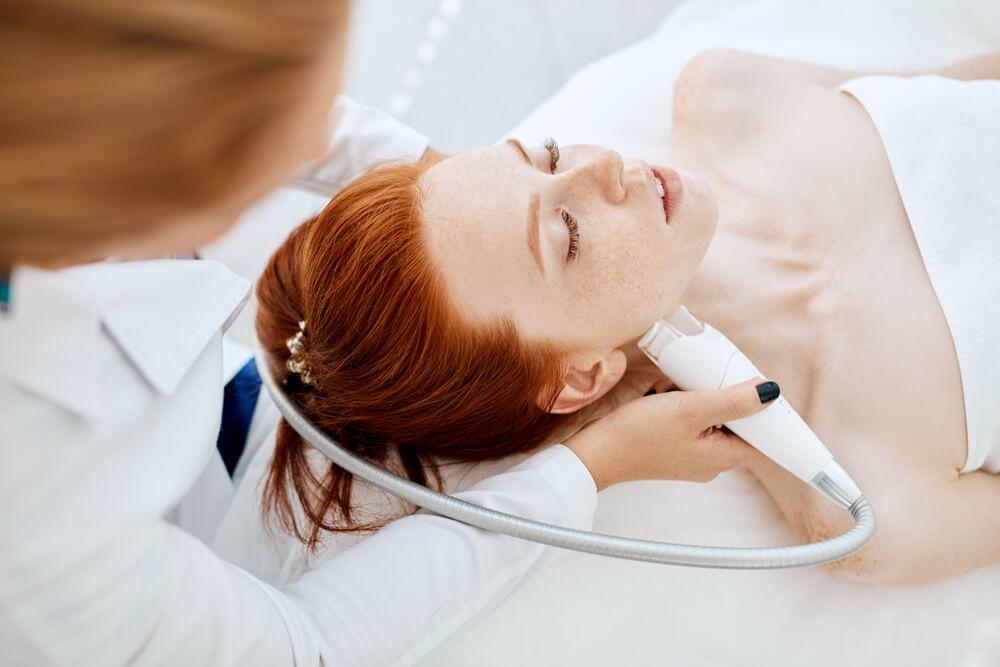 training skin tightening radio frequency