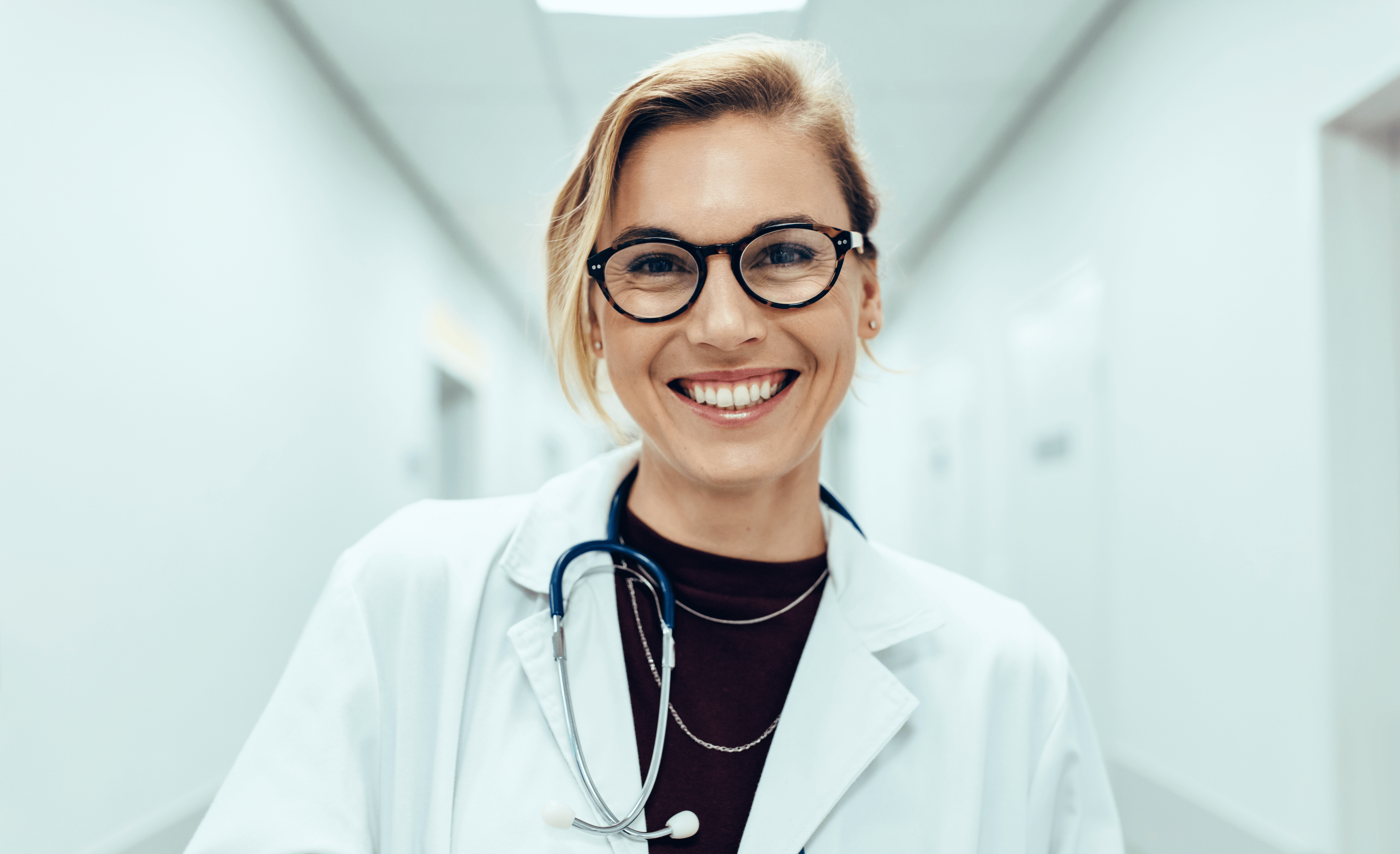 happy physician